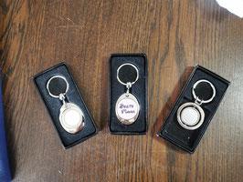 Schlüsselanhänger aus Metall mit Wunschmotiv
