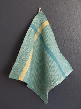 """Mungo Washcloth Waschlappen """"Aqua Forest Green"""""""