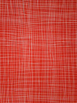 Red Scratchy Plaid