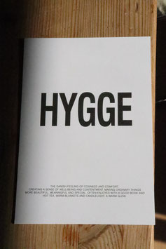 "Postkarte "" Hygge"""