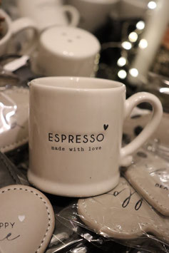 "Bastion Collections Espressotasse ""made with love"""