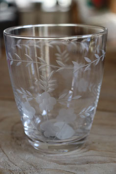 Greengate  Glass Water with cutting clear