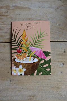 """Postkarte""""Enjoy the Day"""""""