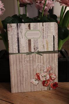 Taurus Journal Mohnblüte