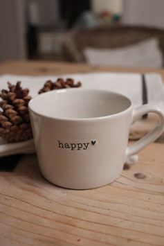 "BC Tasse "" Happy Black"""