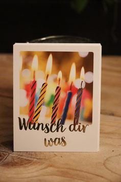 "cityproducts Mini Postkarte "" Wünsch dir was """