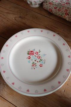 "GreenGate Dinner plate  "" sonia white """