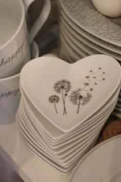 Krasilnikoff Heart tray Pusteblume