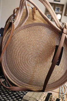 The Moshi Schultertasche Paola beige
