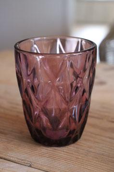 "Wasserglas ""Lila"""