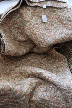 IB Laursen Quilt Paisley grün/ golden/ rost