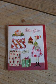"""Grätz Mini-Postkarte """"Alles Gute!"""""""