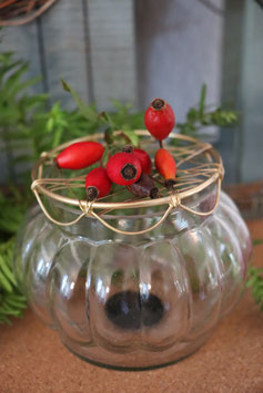 Madley Vase mit Netzdeckel