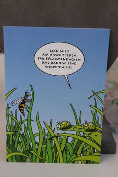 """Inkognito Postkarte """" Leck mich am A..."""""""