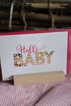 Art Hallo Baby rosa