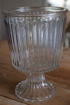 """Glas Pokal """" Rille"""""""
