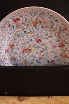 GreenGate Stoneware Plate Vivianne white