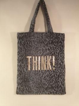 Shopper THINK!, blue leo