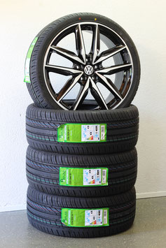 NEU VW 19 Zoll Alufelgen Golf 6 7 R GTI Sportsvan Sommerreifen