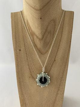 Collier perle de verre chalumeau