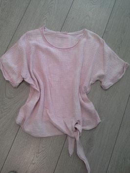 **NEU** Bluse rosa, hinten T-Shirt Stoff