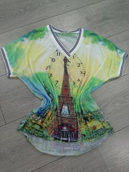 *** NEU *** Shirt mit V-Ausschnitt, onesize, bis Größe44