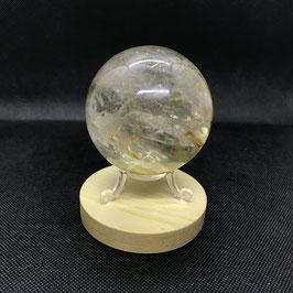 Boule de quartz fumé