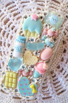Coque pour IPHONE 5C - Les gourmandises pastels