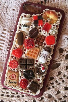 Coque IPHONE 7+/8+ , Les chocolats d'amour