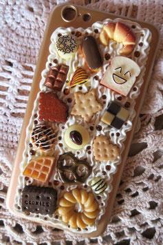 Coque IPHONE 6+/6S+ , Biscuits et chocolats
