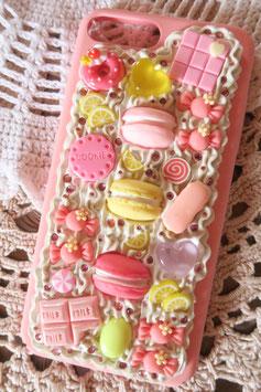 Coque IPHONE 7+/8+ , Trio de macarons