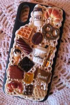 Coque IPHONE X/XS , La farandole de gourmandises