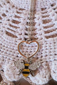 """Collier """"Mon petit amour d'abeille"""""""