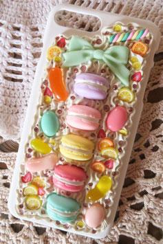 Coque IPHONE 7+/8+ , La boîte de macarons