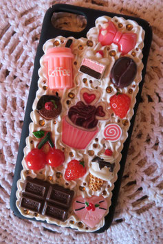 Coque IPHONE 7/8 , Cupcake filtre d'amour