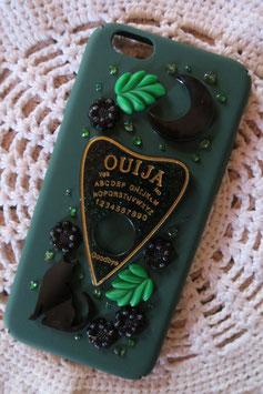Coque pour IPHONE6/6S - Forêt spirituelle, Ouija doré/vert