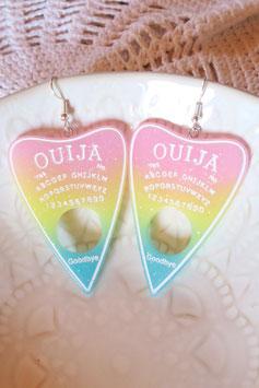 """Boucles d'oreilles """"Grandes plaquettes de Ouija"""""""