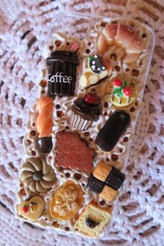 Coque IPHONE5/5S/5SE , Choco café biscuit