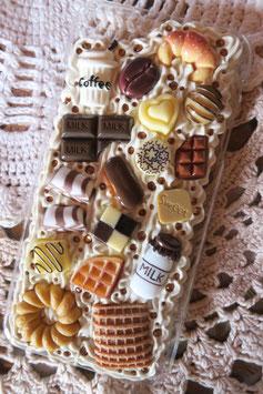 Coque IPHONE 6+/6S+ , Café vanille