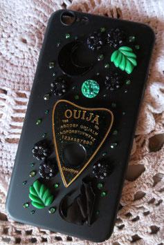 Coque IPHONE 6+/6S+ , La forêt spirituelle, Ouija vert/doré