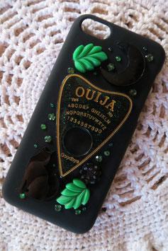Coque pour IPHONE 5C - Forêt spirituelle, Ouija doré/vert