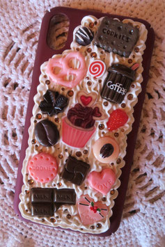 Coque IPHONE XR , Cupcake filtre d'amour