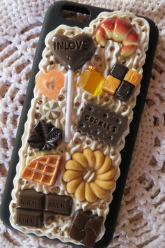 Coque pour IPHONE6/6S - Sucette choco & co