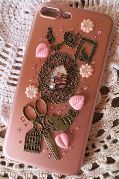 Coque IPHONE 7+/8+ ,  Les livres d'Alice