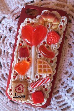 Coque IPHONE5/5S/5SE , Sucette et biscuits