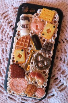 Coque IPHONE 7/8 , Choco peach