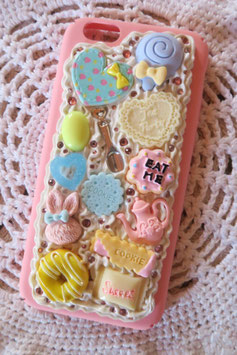 Coque pour IPHONE6/6S - Wonderland pastel