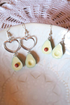 "Boucles d'oreille ""Avocado"""