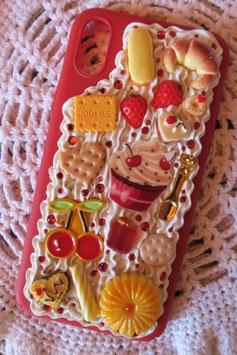 Coque IPHONE X/XS , Cherry cupcake