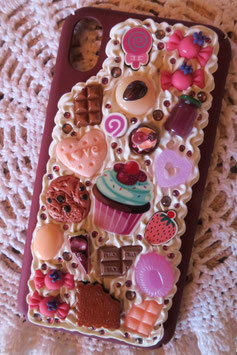 Coque IPHONE XR , Myrtille framboise